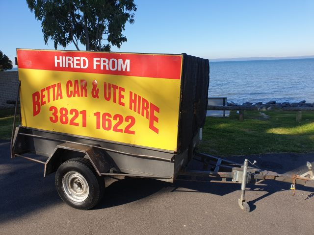 Brisbane Caged Trailer Hire